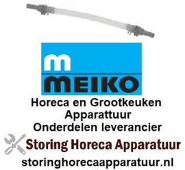 533361333 - Meiko pompslang SR25 wasmiddel slang ø 4x1,5mm slangtype silicone