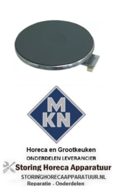 970490018 - Kookplaat Rond ø 220mm 2000W 230V voor MKN