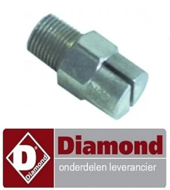 695D20002 - Sproeinippel voor DIAMOND ICE120A