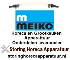 613361334 - Meiko pompslang SR25 wasmiddel slang ø 5x8mm slangtype silicone