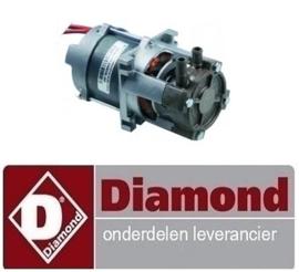 500DPE127 - DRUKVERHOGINGSPOMP 460W-230V DIAMOND 015/25D-NP