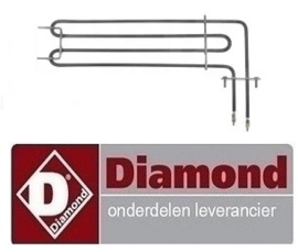 144RTFOC00628 - Verwarmingselement oven DIAMOND PFE 5D