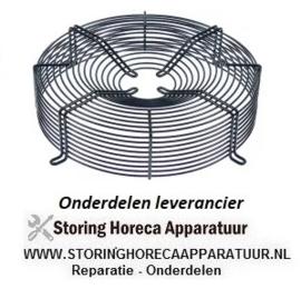 195602.087 - Beschermrooster ebm-papst voor ventilatorblad ø 310 mm ø 340 mm