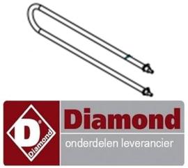 1199NOHCR10.1 - Verwarmings elelement  1.7 Kw voor kippengrill DIAMOND ROTISKY