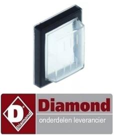 443401509000 - Beschermkap binnenmaat 30x22mm voor schakelaar  DIAMOND