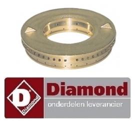 12567.2.079.00 - Branderdeksel gasfornuis 5,5 kW DIAMOND G11/6BA12