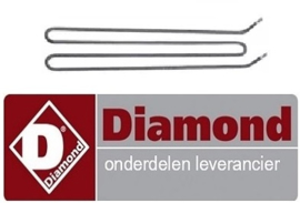 926.665.002.00 - Verwarmingselement 1800 Watt Elektrische bakplaat DIAMOND E65/PL4T
