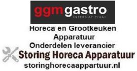 217791604526 - Buitenglas (kit) voor hete lucht oven GOURMET 511 plus GGM Gastro-logo