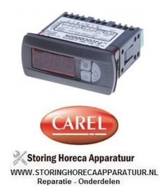 145379629 - Elektronische regelaar CAREL inbouwmaat 71x29mm 230V spanning AC NTC DEF relais 5A