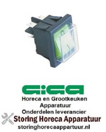 886300125 - Wipschakelaar groen voor GIGA Bain-Marie