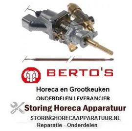 901101181 - Gasthermostaat t.max. 300°C BERTOS