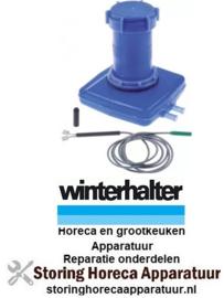 419504420 - Zouttank L 135mm B 133mm H 160mm set kunststof slang ø 9,3mm WINTERHALTER