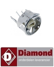 087007055 - HALOGEENLAMP HOUDER DIAMOND C SERIES