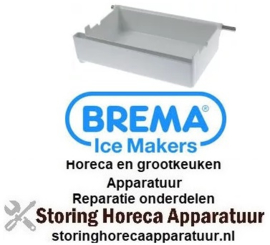 145696739 - Bak voor ijsmaker L 310mm B 205mm H 85mm BREMA