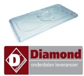 228P05.146 - Deksel PVC voor slagroommachine DIAMOND MCV/2