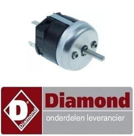 PIZZA OVEN DIAMOND PIZZA-QUICK/43 PLUS REPARATIE ONDERDELEN