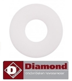 725437100 - VLAKPAKKING PTFE G400 DIAMOND DC502