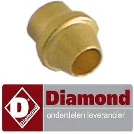 870053665 - Snijring voor pijpø 4mm passend voor ontstekingsbrander gasfornuis DIAMOND G17/4F8T-N