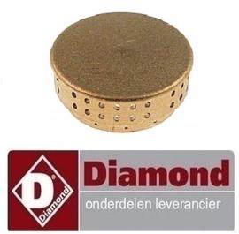 5440C0129 - Branderdeksel 6kW DIAMOND GASFORNUIS G22/2B4T-N