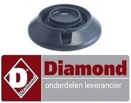 136RTCU700749 - Branderkop voor branderdeksel ø 115mm 6kW voor gasfornuis DIAMOND