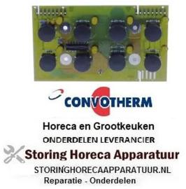 304402879 - Bedieningsprint passend voor convectie oven knoppen 8 CONVOTHERM
