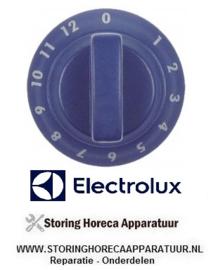 011111430 - Knop energieregelaar 0-12  onder blauw ELECTROLUX