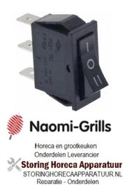 519345575 - wipschakelaar inbouw 250V 16A NAOMI GRILL