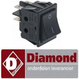 32912049461 - Wipschakelaar voor koelkast en vrieskast DIAMOND