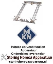 122105890 - Staafbrander 2-rijen voor Bain-Marie MKN