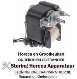 257750398 - Ventilatormotor 230/240V 50/60Hz 35W as ø 6mm as L 14mm B 62mm H 73mm 2500U/min