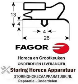 849900880 - Koeldeurrubber B 255mm L 375mm steekmaat FAGOR