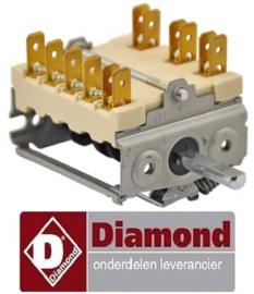 VE539RTCU700078 - Nokkenschakelaar elektrische fornuis DIAMOND E7/2PQ4T