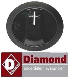 417.551.014.00 - Knop voor thermostaat convectie oven DIAMOND BRIO-64/X