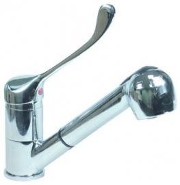 540161 - Eenhendeleengatsmengkraan hendel lang keramisch cartouche ø40mm uitlooplengte 200mm