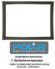 A399.D0.24 - Deurrubber POLAR CD082, CD083, CD087, CD612, CD613 & CB921