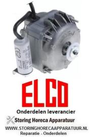 295.6016.08 -  Ventilatormotor 18W 230/240V 50/60Hz B 90mm kabellengte 1000mm 2600U/min ELCO R18-25/010