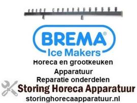 112695492 - Sproeiarm L 718mm sproeiers 18 voor ijsblokjesmachine BREMA