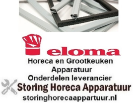 679900100 - Ovenrubber B 460mm - L 645mm buitenmaat VPE 1 6 x 1/1 ELOMA
