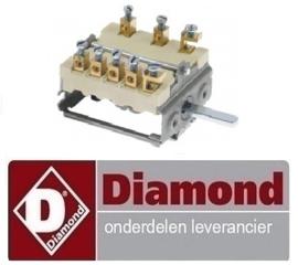 025.661.002.00 - Nokkenschakelaar DIAMOND FORNUIS E60/2P3T