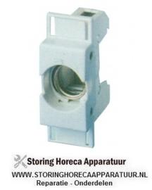 684358093 - Zekeringhouder passende zekering D01 1-polig 16A maximale spanning 400V