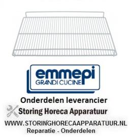 226.970491 - Rooster kunststof cover 518 x 408 mm EMMEPI