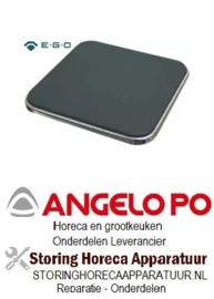 910490073 - Kookplaat maat 300x300mm 3000W 400V voor Angelo Po