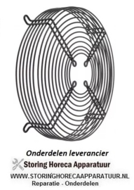895601.954 - Beschermrooster ebm-papst voor ventilatorblad ø 250 mm ø 280 mm