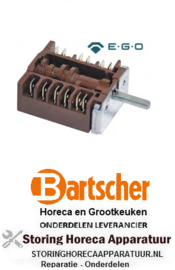 912300031 - Nokkenschakelaar 7 schakelstanden BARTSCHER