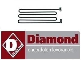 926.665.003.00 - VERWARMINGSELEMENT 1.5kW VOOR BAIN-MARIE E70/*+E65/* DIAMOND