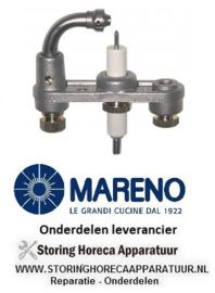 073411111 - Waakvlambrander kantelbare braadpan MARENO BRG94G