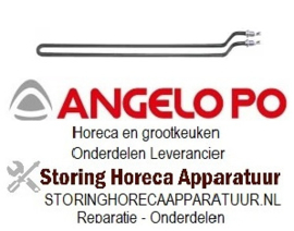 304415148 - Verwarmingselement 750W 230V voor Angelo Po grill