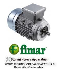 354SL3309 - Motor 750W - 230/400V - 1400U/min type FS80B4 FIMAR