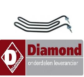234D02154  - Verwarmingselement 1450W, 230V DIAMOND KEB-E40 , KEB-E60 , KEB-E80
