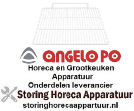 669970556 - Draadrooster B 530mm D 650mm GN 2/1 H 60mm staal kunststof gecoat ANGELO-PO